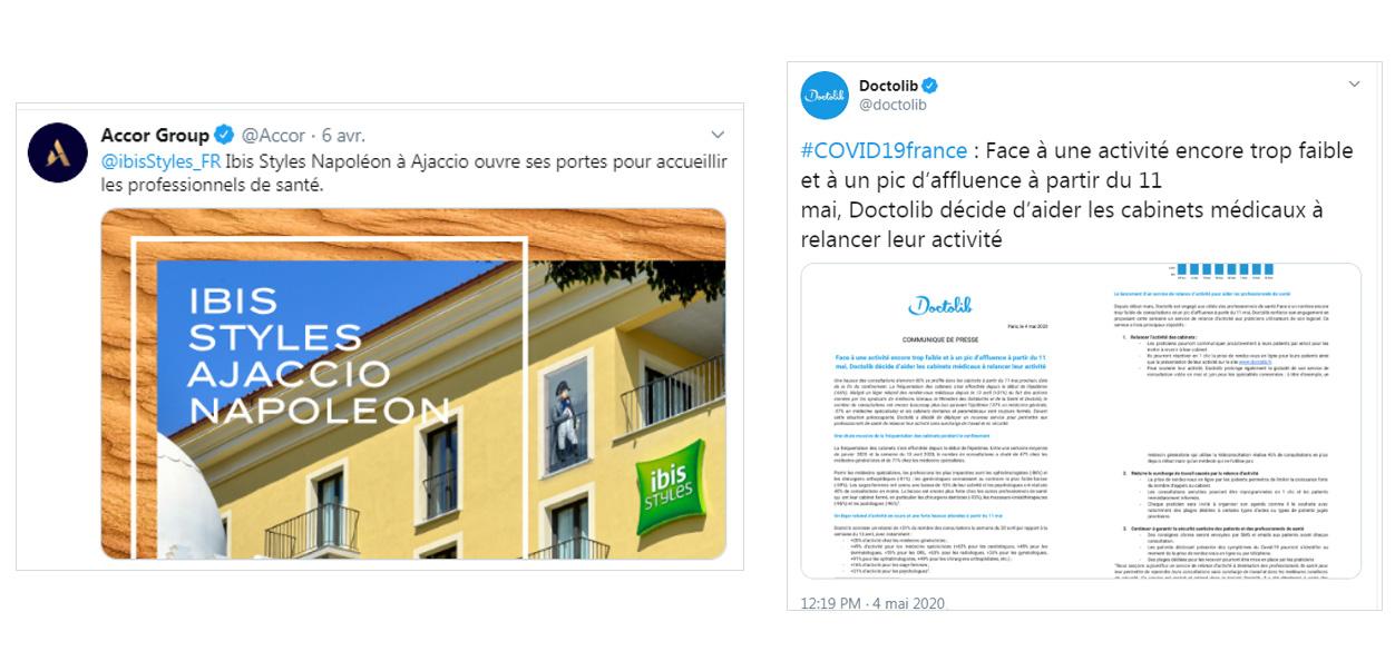 Les initiatives du Groupe Accor et de Doctolib