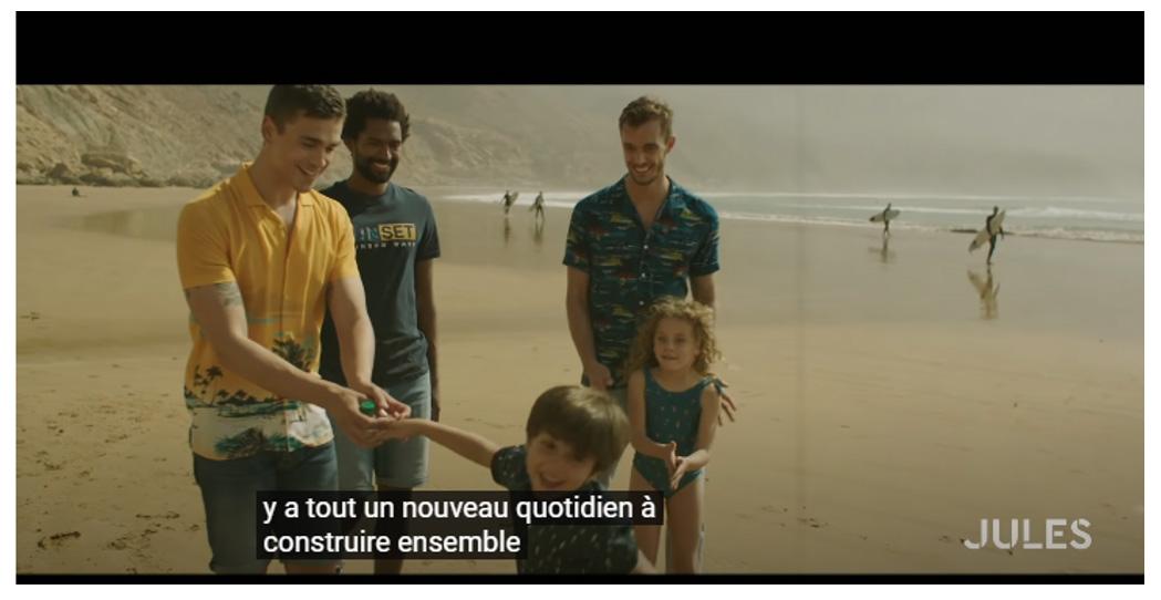 """La campagne """"Men in Progress""""de la marque Jules"""