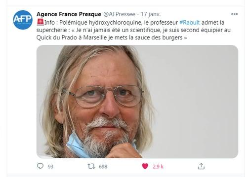 Le compte parodique de l'Agence France Presque