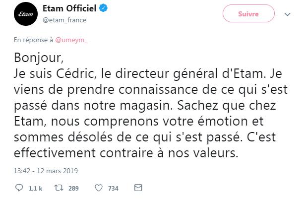 """C'est le Directeur Général du groupe lui-même, Cédric Taravella qui """"prend la parole"""" sur Twitter"""