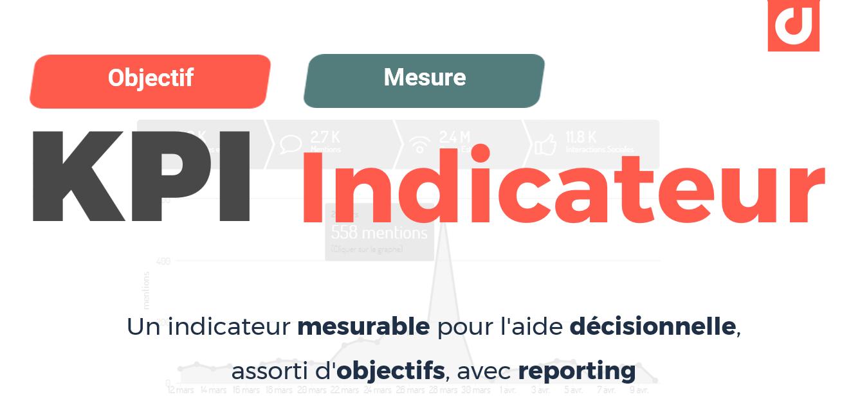 Les KPIs : des indicateurs mesurables d'aide décisionnelle assortis d'objectifs