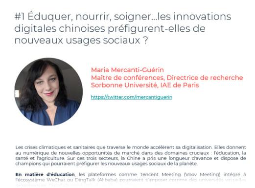 Maria Mercanti-Guérin, Maître de conférences, Directrice de recherche Sorbonne Université, IAE de Paris