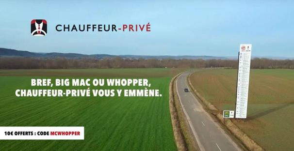 Chauffeur privé code