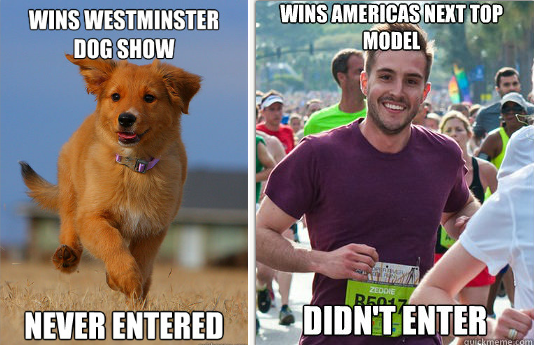 "Le Mème internet : ""Ridiculously photogenic guy""."