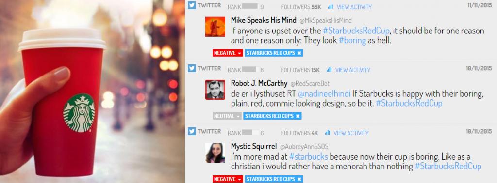Las reacciones en Twitter ante las tazas rojas de Starbucks durante Navidad fueron en su mayoría