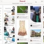 ejemplo de dashboard general de Pinterest
