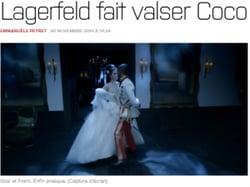 Lagerfeld fait danser Coco