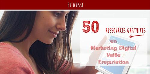 50 ressources gratuites en marketing digital