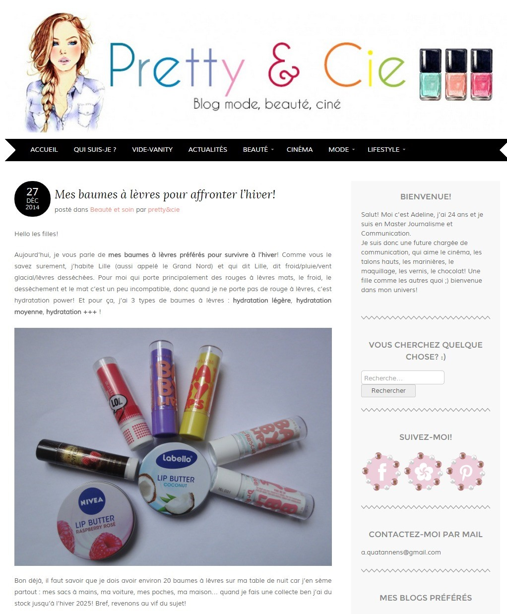 Labello Pretty&Cie