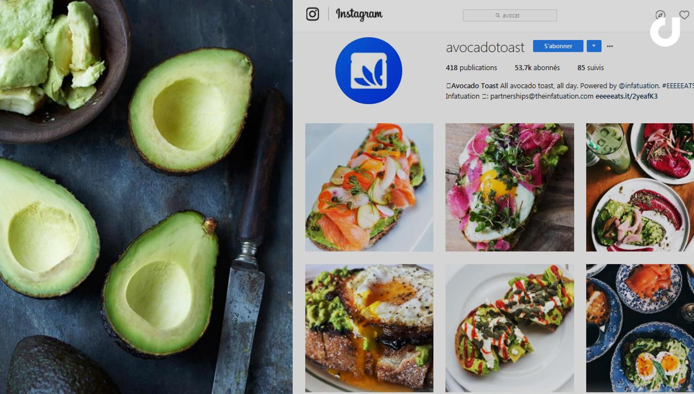 Les recettes à base d'avocat, une tendance majeure sur Instagram