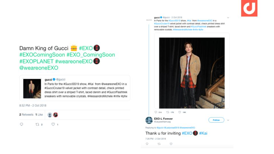EXO-frontman-Kai's-appearance-at-Gucci-fashion-show-being-discussed-on-Twitter
