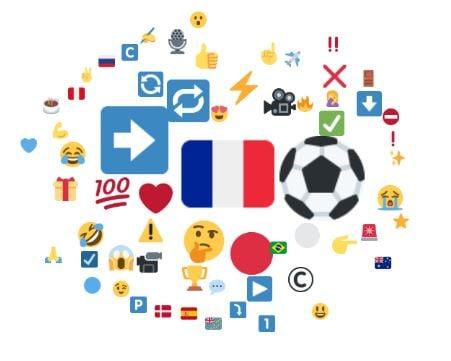 Emojis associés à Antoine Griezmann