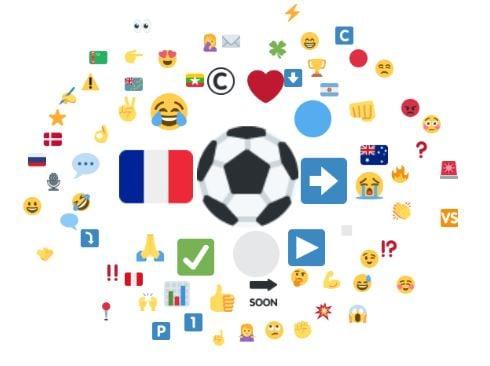 Emojis associés à Didier Deschamps