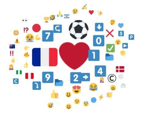 Emojis associés à N'Golo Kante