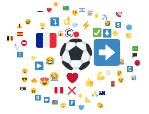 Emojis associés à Paul Pogba