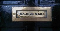 no spam de email
