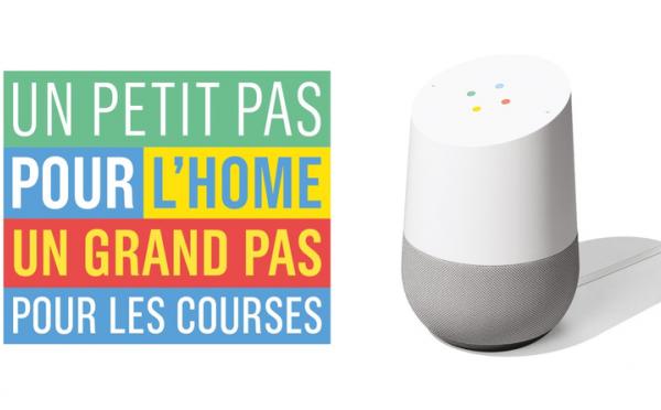 Monoprix à l'écoute avec Google Home