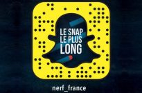 le snap le plus long de Nerf France