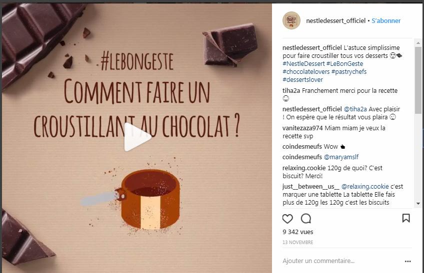 Les videos Tutos de recettes de Nesté Dessert