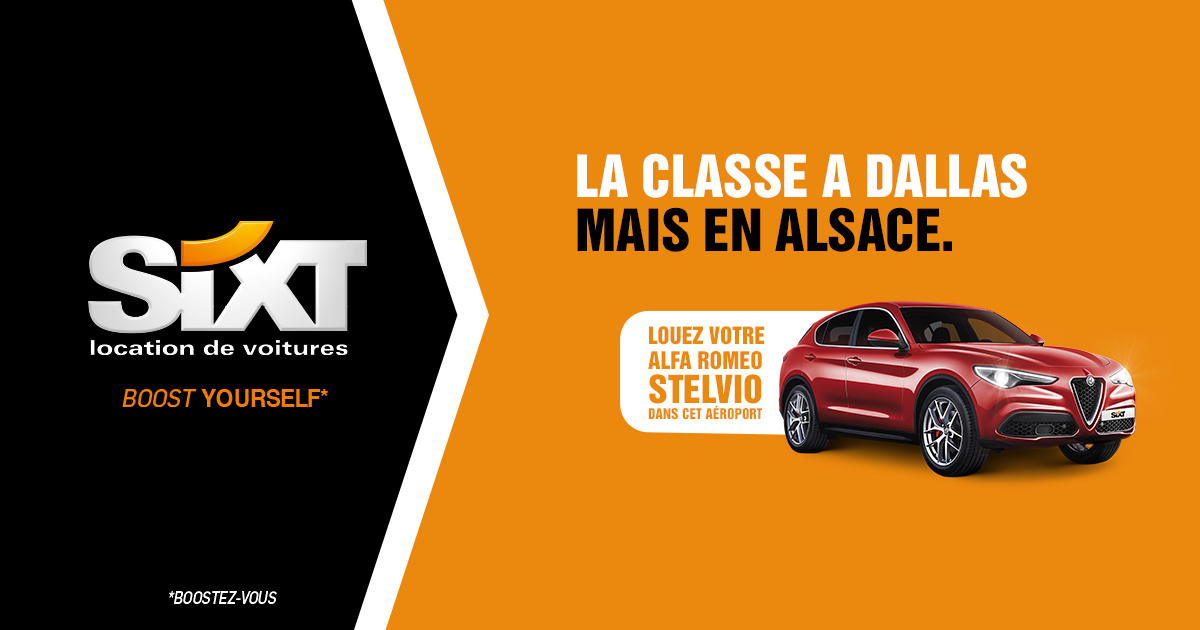 Campagne publicitaire Sixt