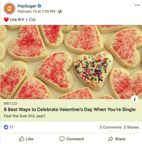 Popsugar Valentine's Day