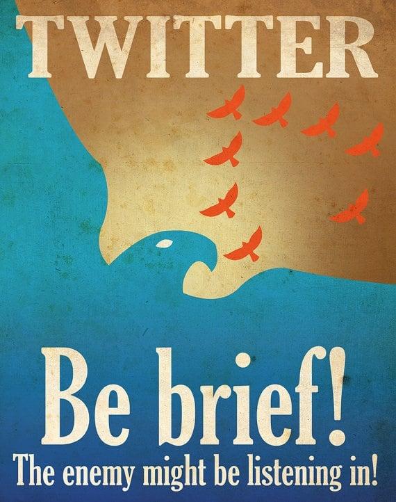 "Social Media Propaganda"" Posters par Justonescarf"