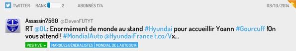 Tweet Stand Hyundai