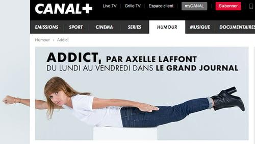 """Addict"", sur Canal+"