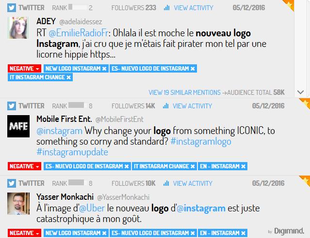 Le nouveau logo instagram provoque des réactions négatives sur les réseaux sociaux