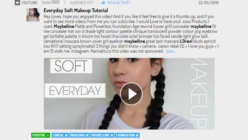 everyday soft makeup tutorial en youtube