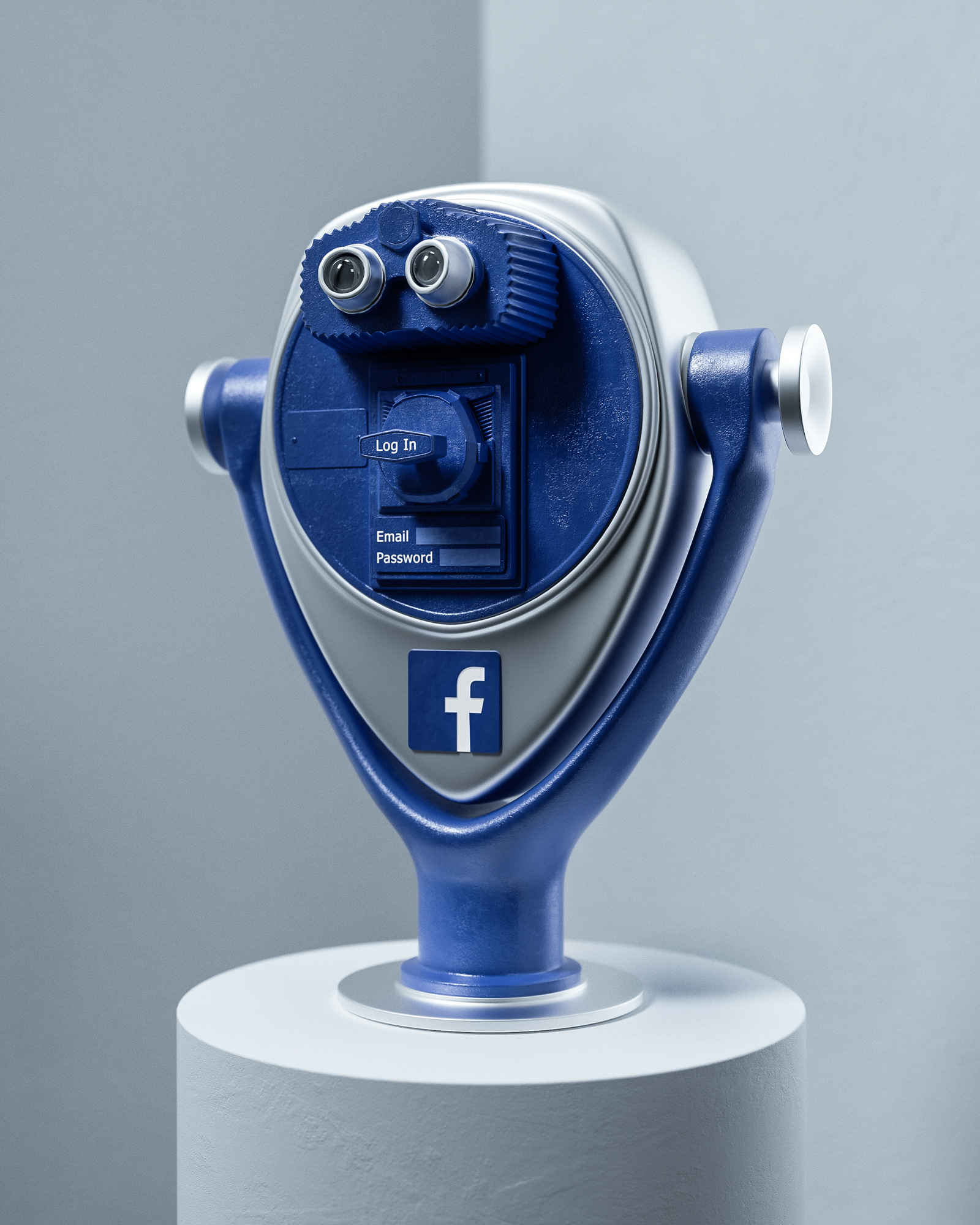 Social Media Reality par Ben Fearnley