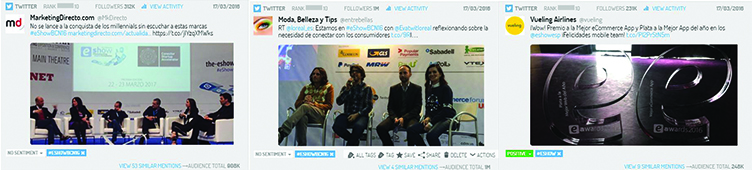 best tweets y ponencias del eshow Barcelona 2016