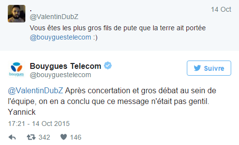 Tweet Bouygues