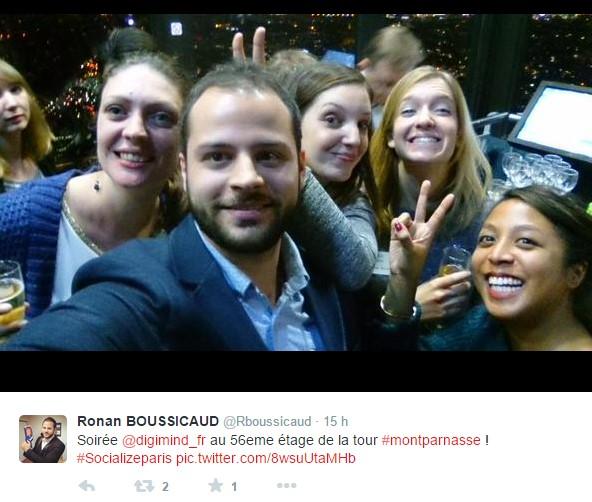 Selfie soirée