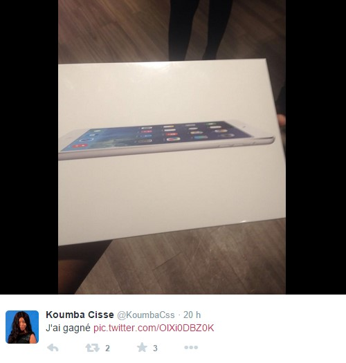coffret iPad