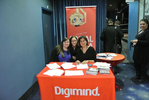 accueil Digimind stand