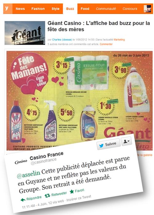 catalogue Geant Casino