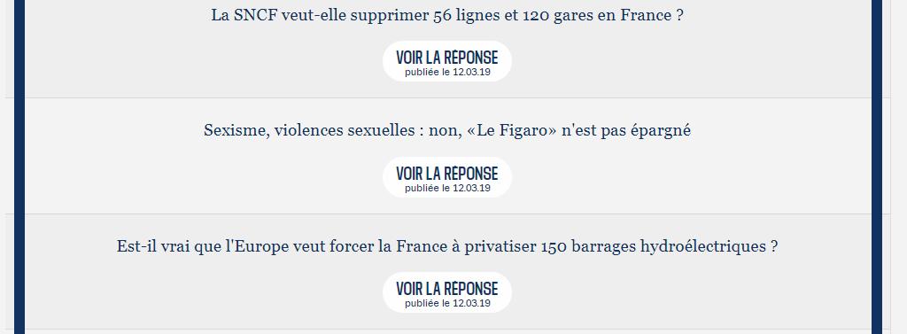 CheckNews.frf, la rubrique de fact checking de Libération