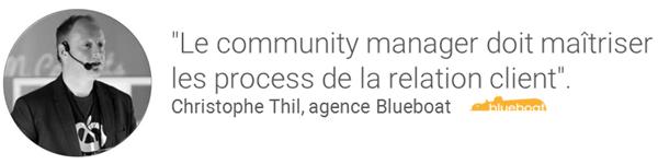 Christophe Thil nous parle du Community Manager