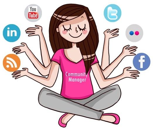 Community manager réseaux sociaux