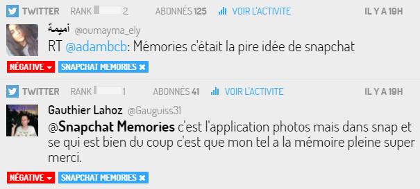 Snapchat Memories ne fait pas l'unanimité