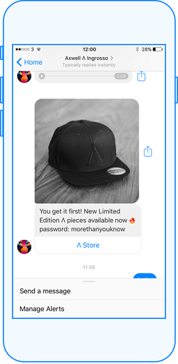 customer-experience a través de un bot en messenger