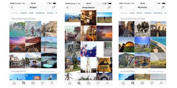 Instagram fuente de inspiración para los viajeros digitales