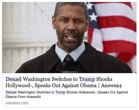 """Cette """"Fake news"""" totalement fabriquée, a été partagée plus de 22 000 fois sur Facebook."""