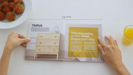 IKEA's take on an Apple style advert