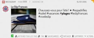 Le Slip Français sur Instagram