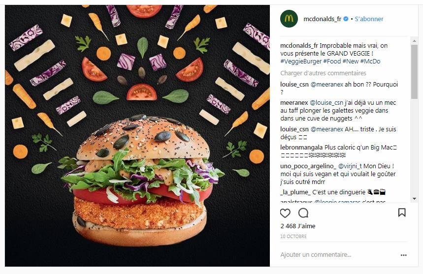La campagne McDonald's et ses gif animés