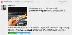 Michel et Augustin chez Starbucks