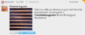 Post Michel et Augustin sur Instagram