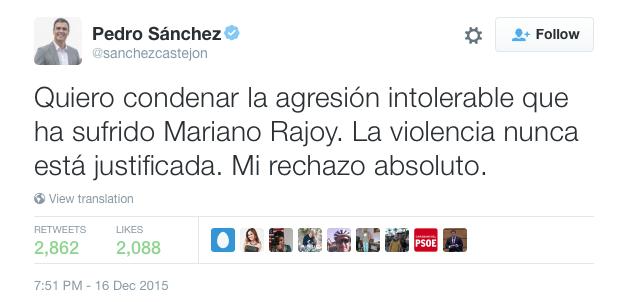 Pedro Sanchez top publicacion
